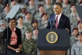 Obama visits Fort Bragg to mark end of...