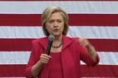 Clinton talks VA shooting, Tamir Rice in OH