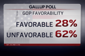 GOP favorability reaches new low in poll