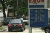 Gas prices take a curious tumble