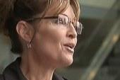 Palin continues bus tour