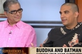 Deepak Chopra, son on superheroes,...