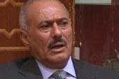 Saleh blames 'tribal foes' for attack