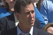 Santorum joins the 2012 race