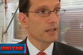 Cantor throws stones from glass house