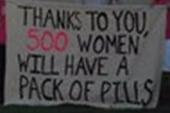 Anti-birth control rally backfires