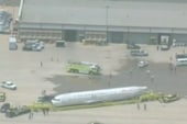 'Miracle on the Hudson' plane arrives in...