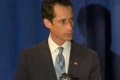 Weiner succumbs to media circus