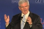 Gingrich goes back to the Future