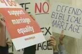 New York hours away from same-sex marriage...