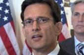 Cantor throws Speaker Boehner under the bus
