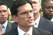 Cantor, Kyl walk out of debt talks