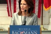 For Bachmann, one step forward, two gaffes...