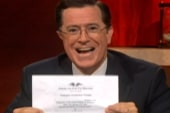Colbert jokes that Fla. gov resembles...