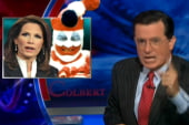 Colbert keeps riffing on Bachmann's gaffe