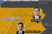 2012 candidates set focus on Pennsylvania