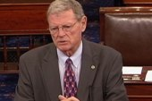 Senator Inhofe thinks he is above the law