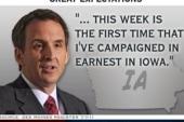 Pawlenty slips to fifth in Iowa