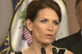 Fear mongering Bachmann says Obama is...