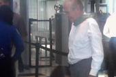 TSA pats down Donald Rumsfeld