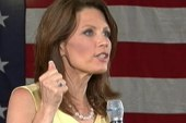 Bachmann speaks about clinics