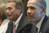 Obama denies reports of blowups in budget...
