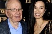 Murdoch's wife steals the spotlight