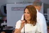 Bachmann surges in the polls