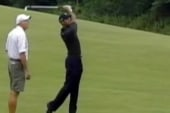 Tiger Woods fires his caddy