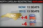 Carving up the 2012 Congressional districts
