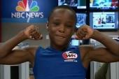 Boy, 10, has own workout DVD