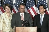 House GOP hangs Boehner out to dry