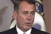 Boehner slams on brakes as GOP bails on...