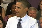 Obama's approval rating dips with...