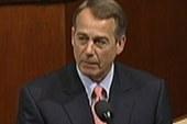 Reaction to Boehner's fiery floor speech