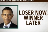Winners and losers of the debt debate