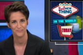 Maddow thanks her MSNBC colleagues