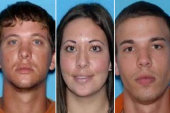 All three 'dangerous' fugitive siblings in...