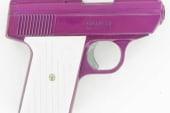 Man shoots himself in groin with pink handgun