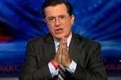 Colbert Super PAC supports Rick 'Parry'