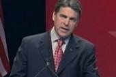 Perry times his splash to overshadow Iowa