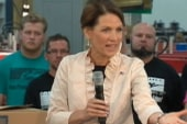 Bachmann's bold statements create buzz in...