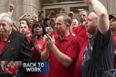Largest labor strike in four years ends