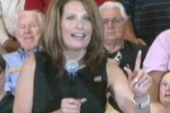 Bachmann: Irene is God's message to...