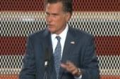 Willard M. Romney unveils jobs plan