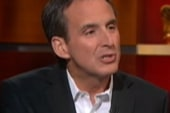 Pawlenty lets loose on the Colbert Report
