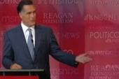 Romney, Perry trade barbs on economy