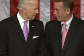 Boehner, Biden carry-on animated discussion