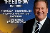 Join Ed in Columbus, OH tomorrow night
