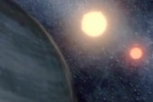 Scientists find a planet that orbits two suns